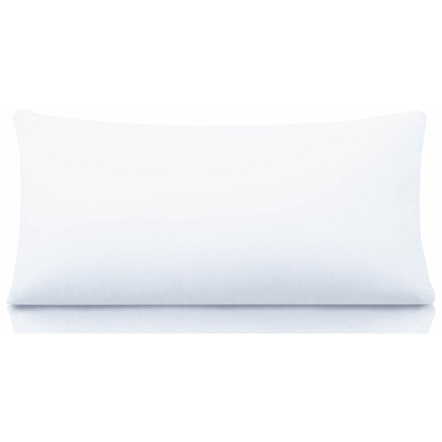 Cotton Encased Down Travel Cotton Encased Down Blend Pillow by Malouf at Furniture Superstore - Rochester, MN