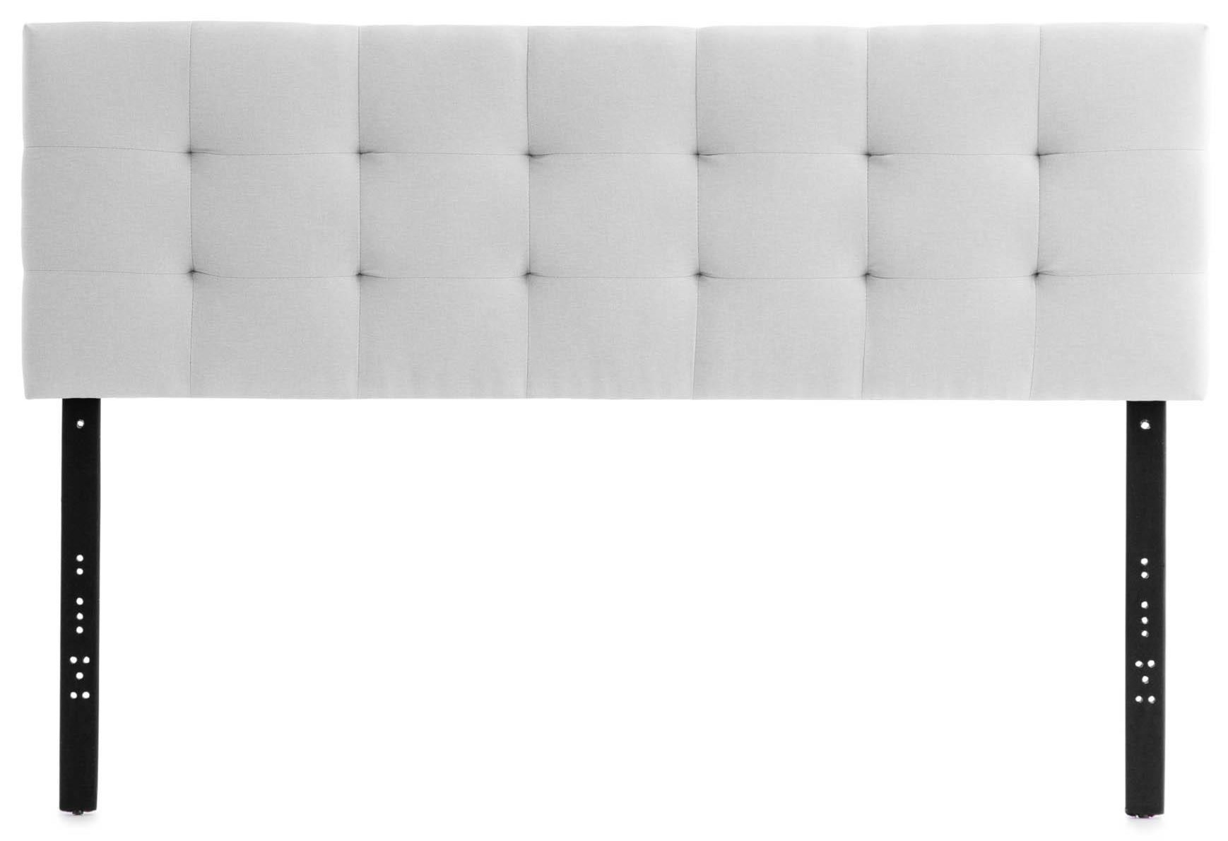 Gale White Full Upholstered Headboard by Malouf at Sam Levitz Furniture