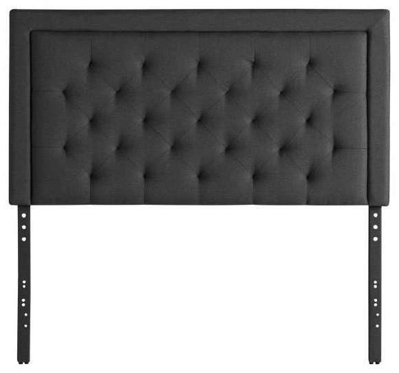 Hennessy King Headboard by Malouf at HomeWorld Furniture