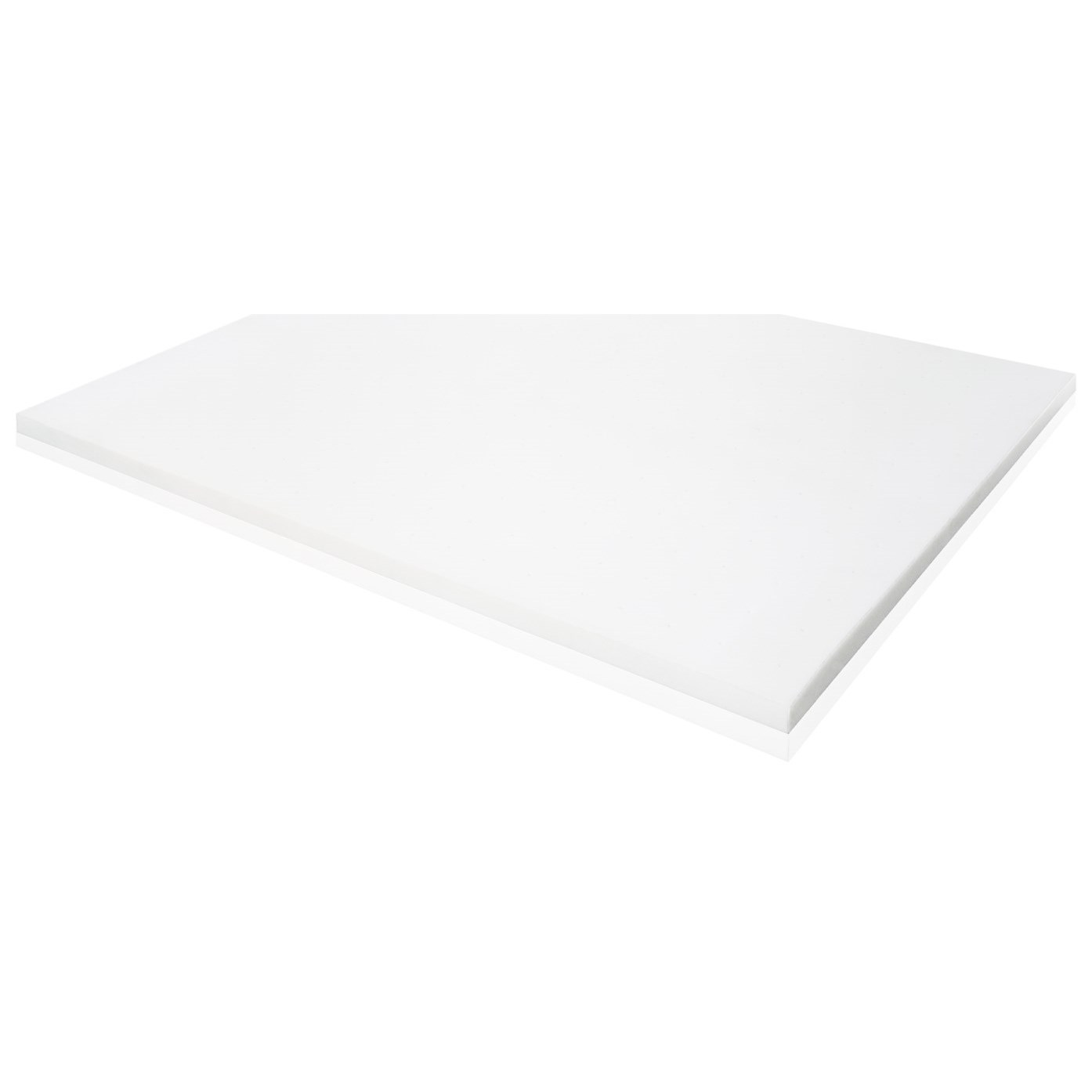"Memory Foam Twin 2"" Memory Foam Mattress Topper by Malouf at Furniture and ApplianceMart"