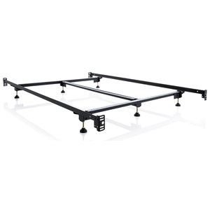 King Steelock Adaptable Hook-In Headboard Footboard Bed Frame