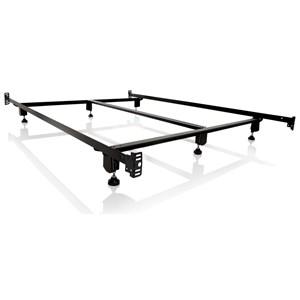 Full Steelock Bolt-On Headboard Footboard Bed Frame