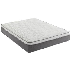"King 12"" Plush Hybrid Innerspring Mattress"