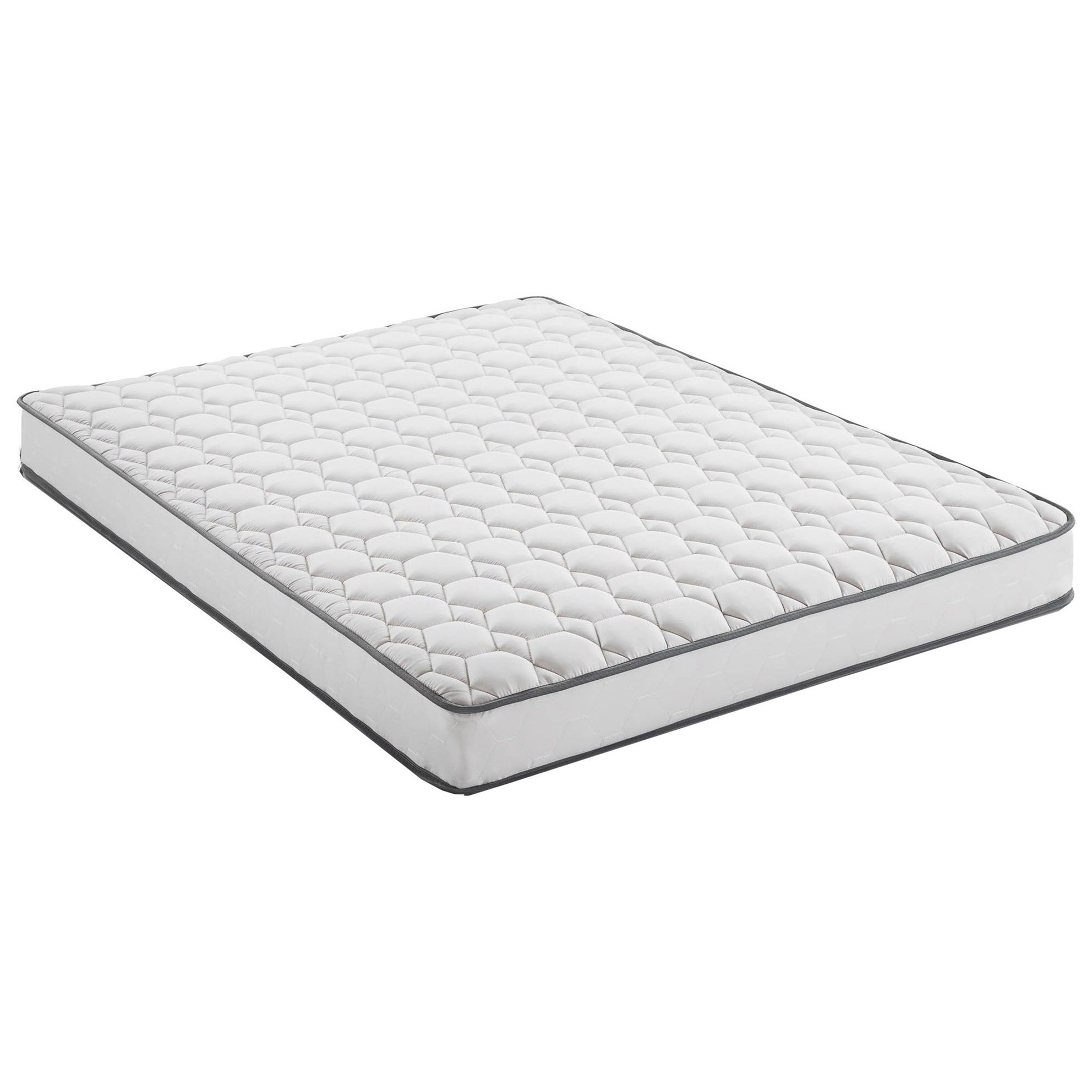 """Dayrise 7 Queen 7"""" Weekender Innerpring Mattress by Malouf at Del Sol Furniture"""