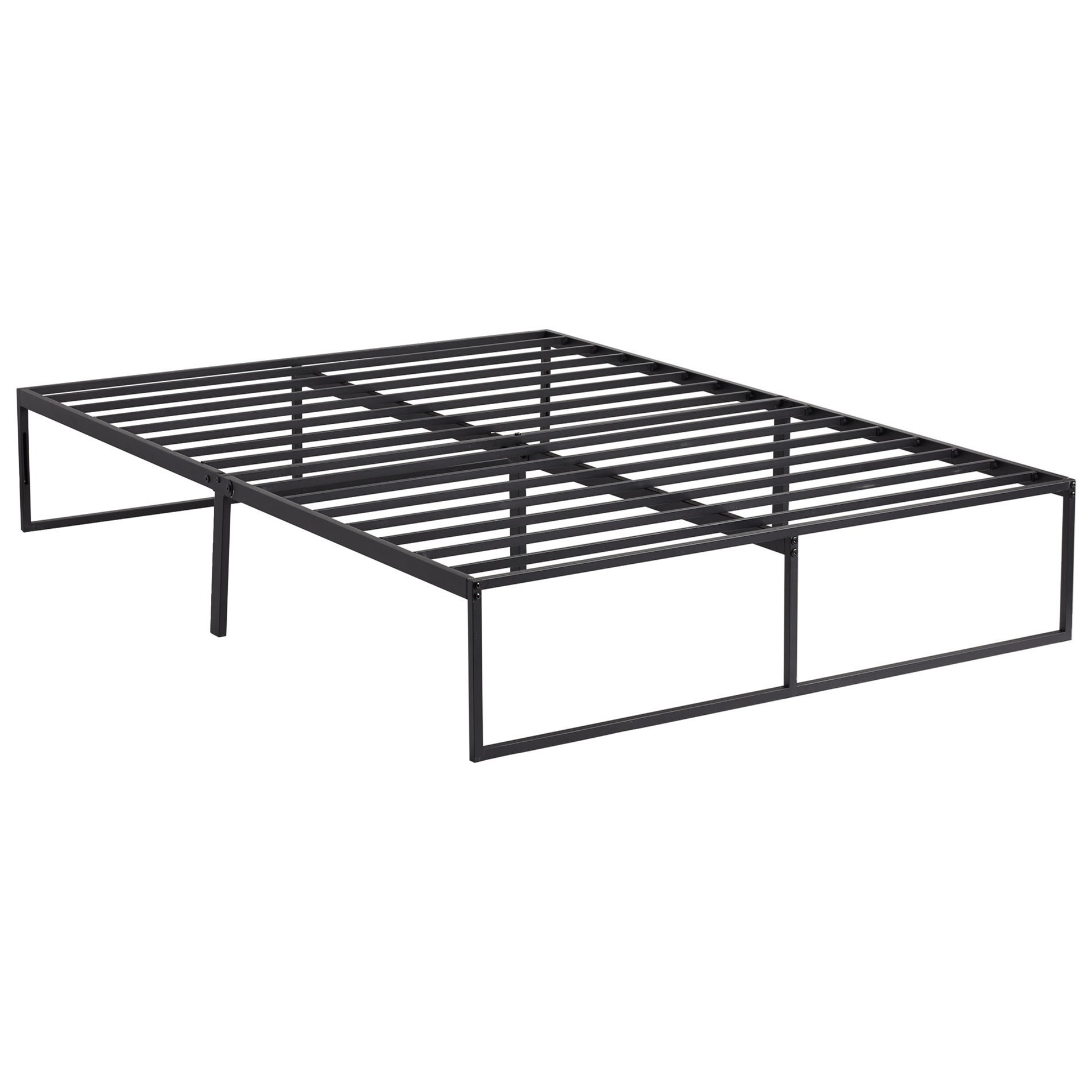 "Weekender14 Metal Platform Twin 14"" High Metal Platform Frame by Malouf at Standard Furniture"
