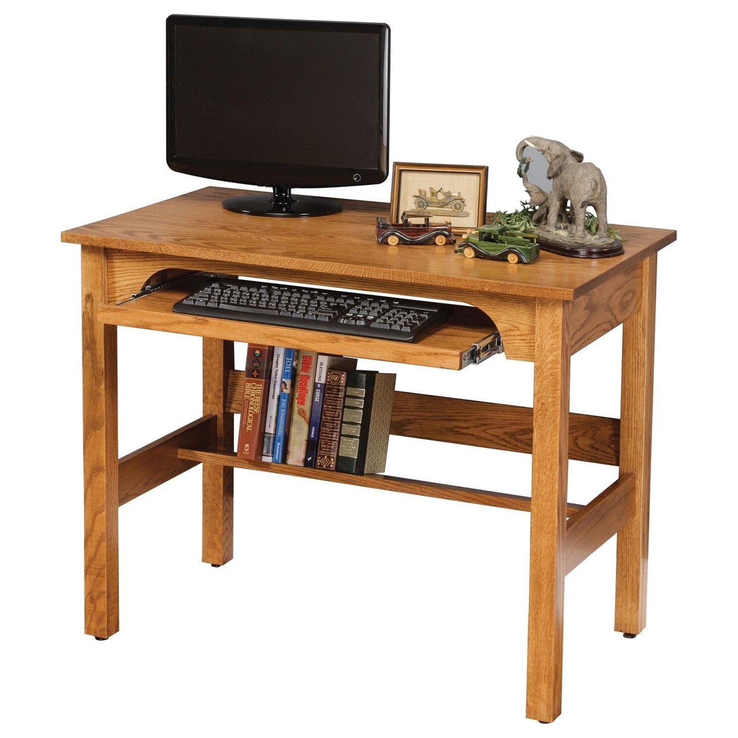 Clark Writing Desk by Maple Hill Woodworking at Saugerties Furniture Mart