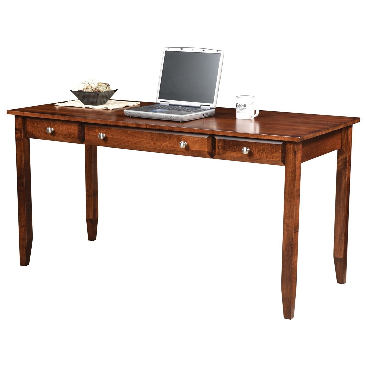 """Hampton 60"""" Writing Desk by Maple Hill Woodworking at Saugerties Furniture Mart"""
