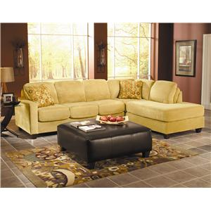 March Upholstery Malibu Upholstered Sectional