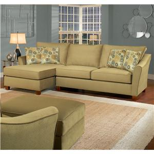 3 Seat Sectional Sofa with Left Facing Chaise