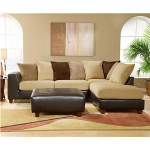 Upholstered, Track Arm Sectional