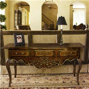 Marge Carson Les Marches Console Table
