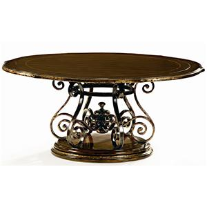 Marge Carson Les Marches Round Dining Table