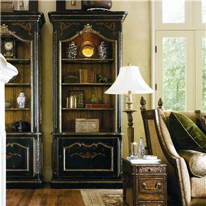 Marge Carson Les Marches Library Cabinet