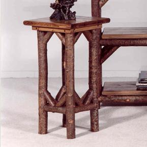Rustic Pedestal Table