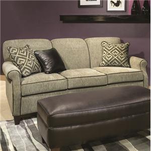 Casual Modern Apartment Sofa with Full Sleeper