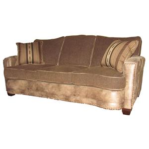 Casual Sofa with Track Arms