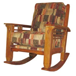 Rustic Country Rocker Chair