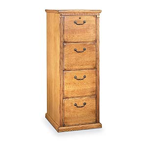 kathy ireland Home by Martin Huntington Oxford 4 Drawer File Cabinet