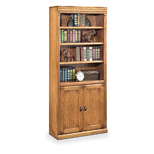 kathy ireland Home by Martin Huntington Oxford Bookcase with Lower Doors
