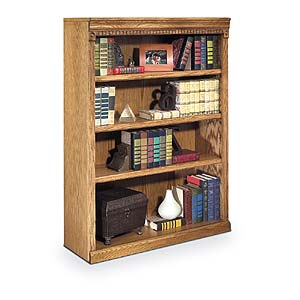 kathy ireland Home by Martin Huntington Oxford 4 Shelf Bookcase