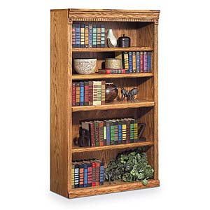 kathy ireland Home by Martin Huntington Oxford 5 Shelf Bookcase
