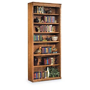 kathy ireland Home by Martin Huntington Oxford 7 Shelf Bookcase
