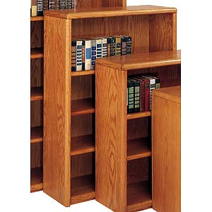 kathy ireland Home by Martin Contemporary  Bookcase with 4 Shelves