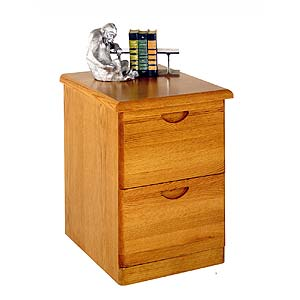 kathy ireland Home by Martin Waterfall 2-Drawer File Cabinet