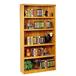 kathy ireland Home by Martin Waterfall Open Bookcase