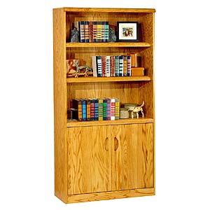 kathy ireland Home by Martin Waterfall Lower Door Bookcase