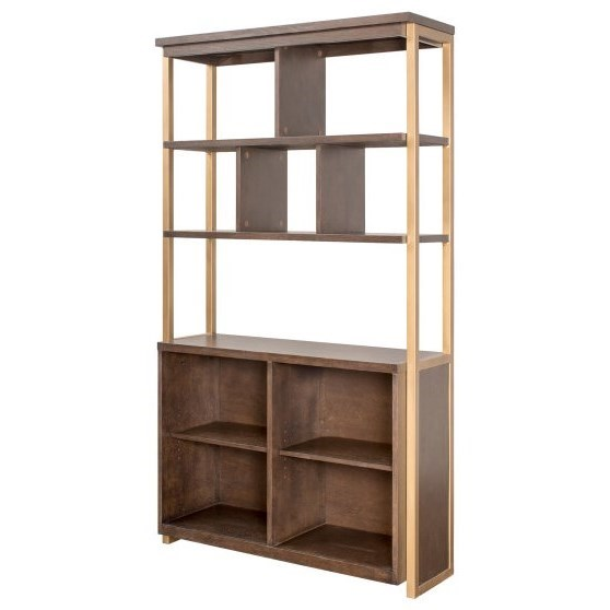 Axis Display Bookcase by Martin Home Furnishings at Powell's Furniture and Mattress
