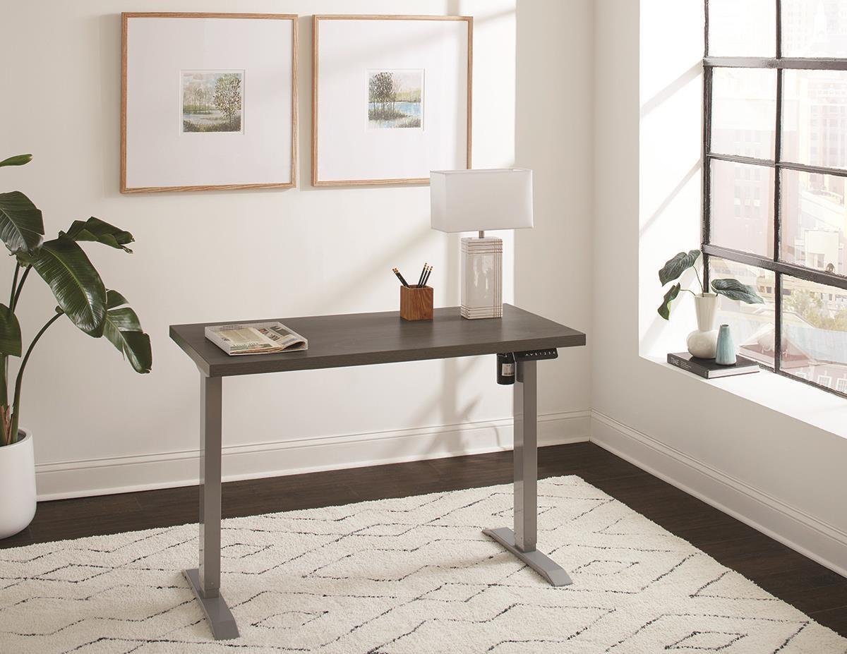 DESKS Sit/Stand Desk by Martin Home Furnishings at Darvin Furniture