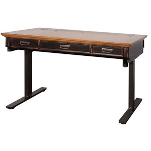 Electric Sit/Stand Desk with AC/USB Outlets