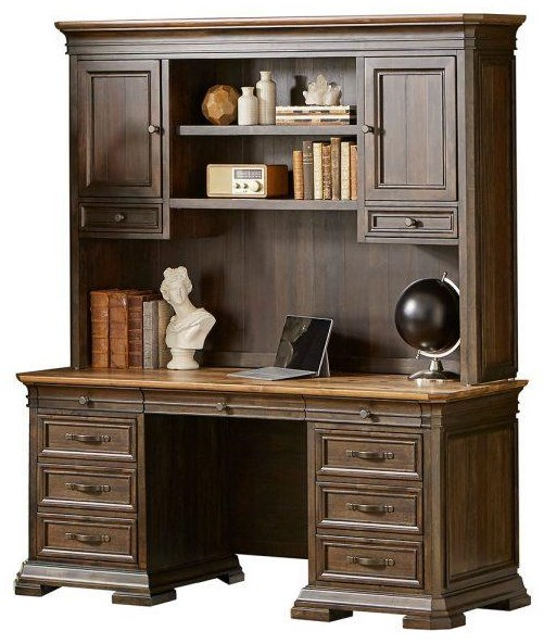 Sonoma CREDENZA And HUTCH by Martin Home Furnishings at Johnny Janosik