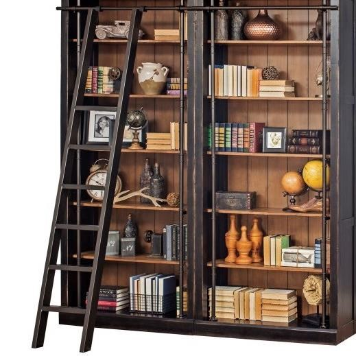 Toulouse Bookcase Ladder by Martin Home Furnishings at Darvin Furniture
