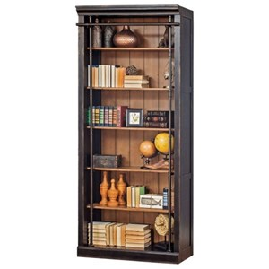 5 Shelf Bookcase with French Influences