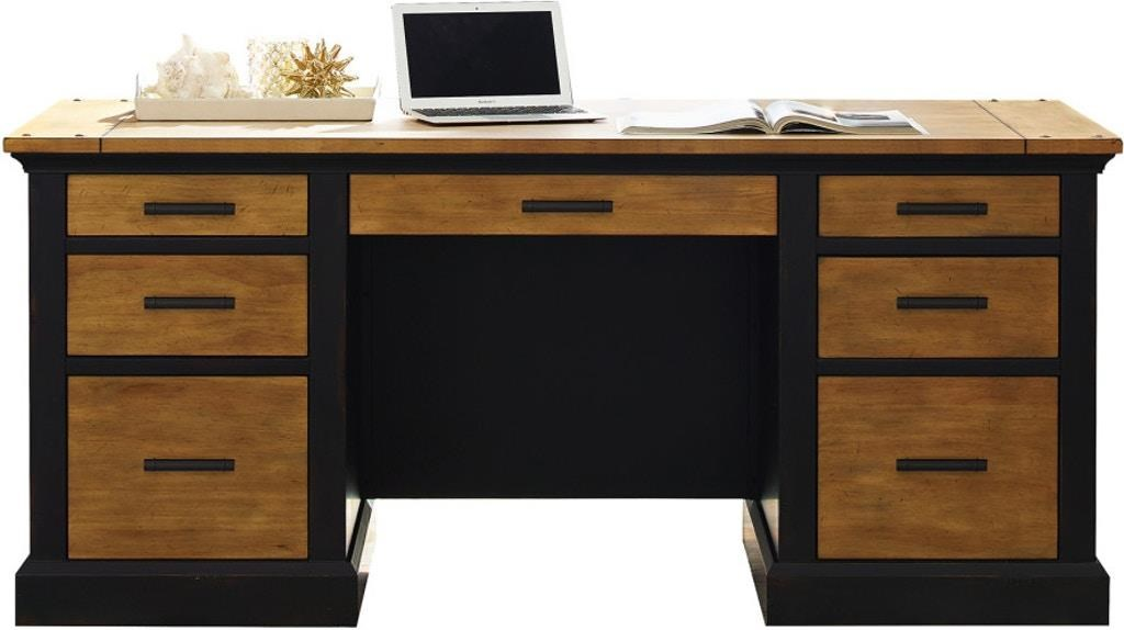 Toulouse Executive Desk by Martin Home Furnishings at Darvin Furniture