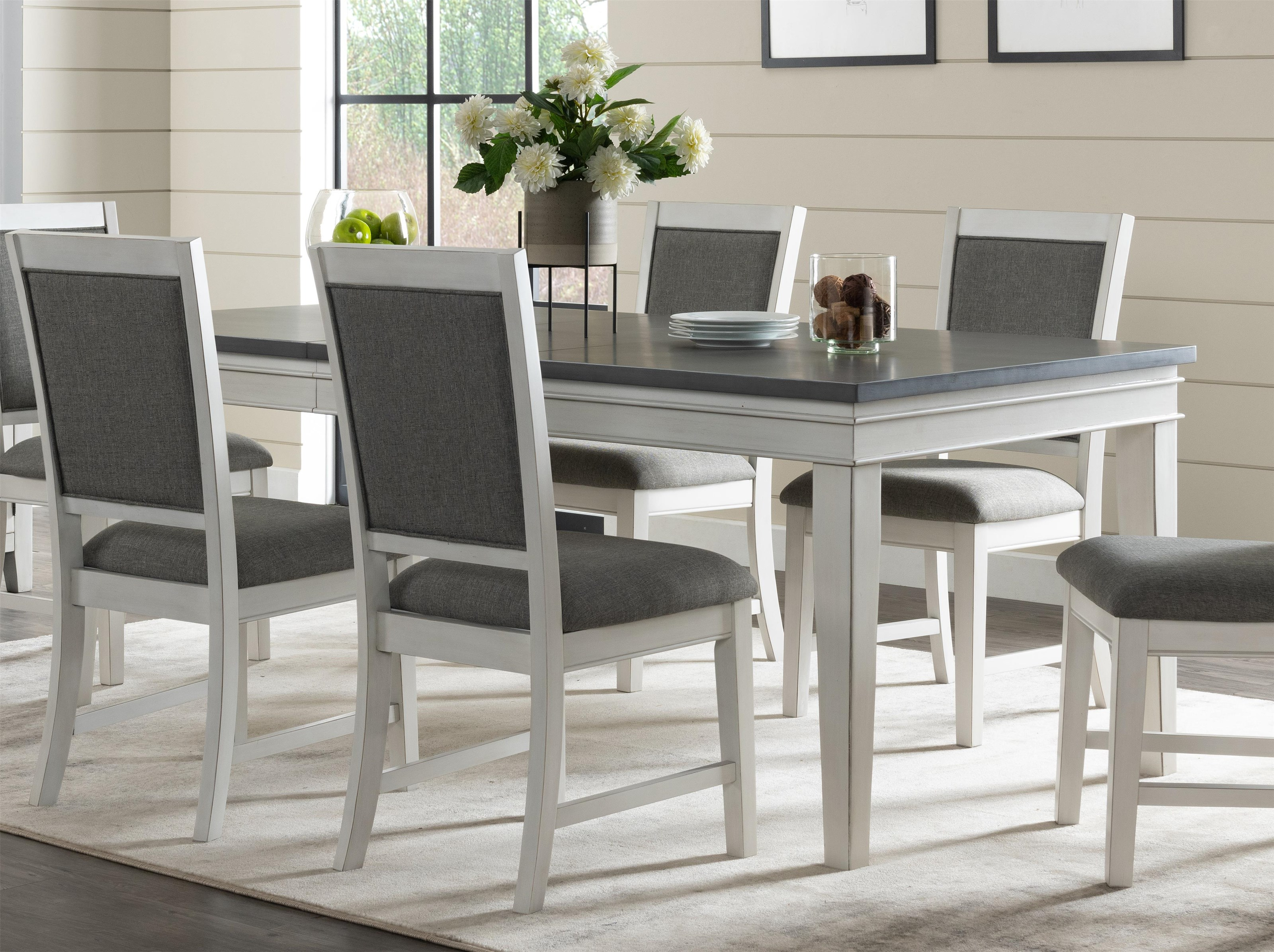 Two-Tone Dining Table