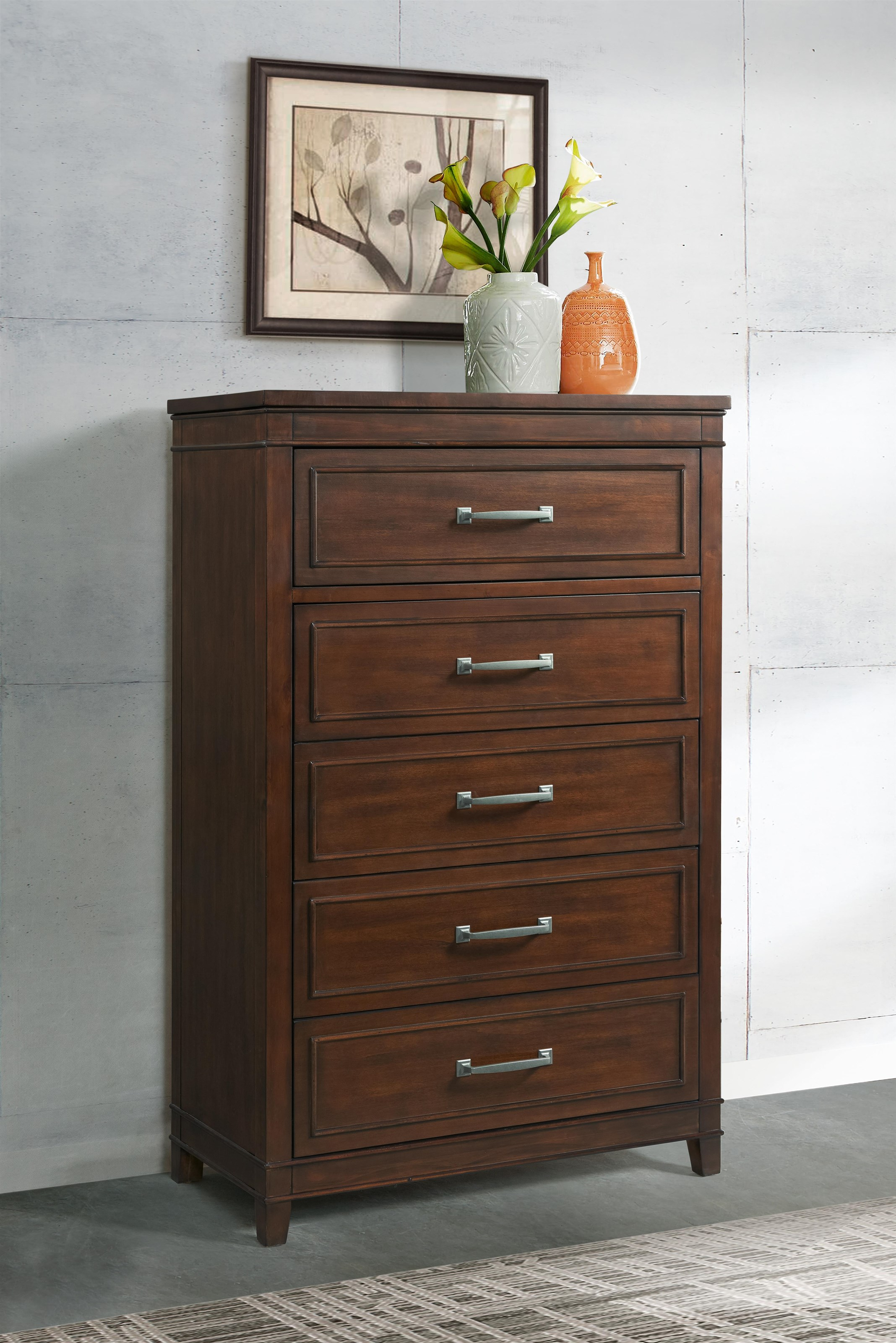LaJolla 5 Drawer Chest by Martin Svensson Home at Darvin Furniture