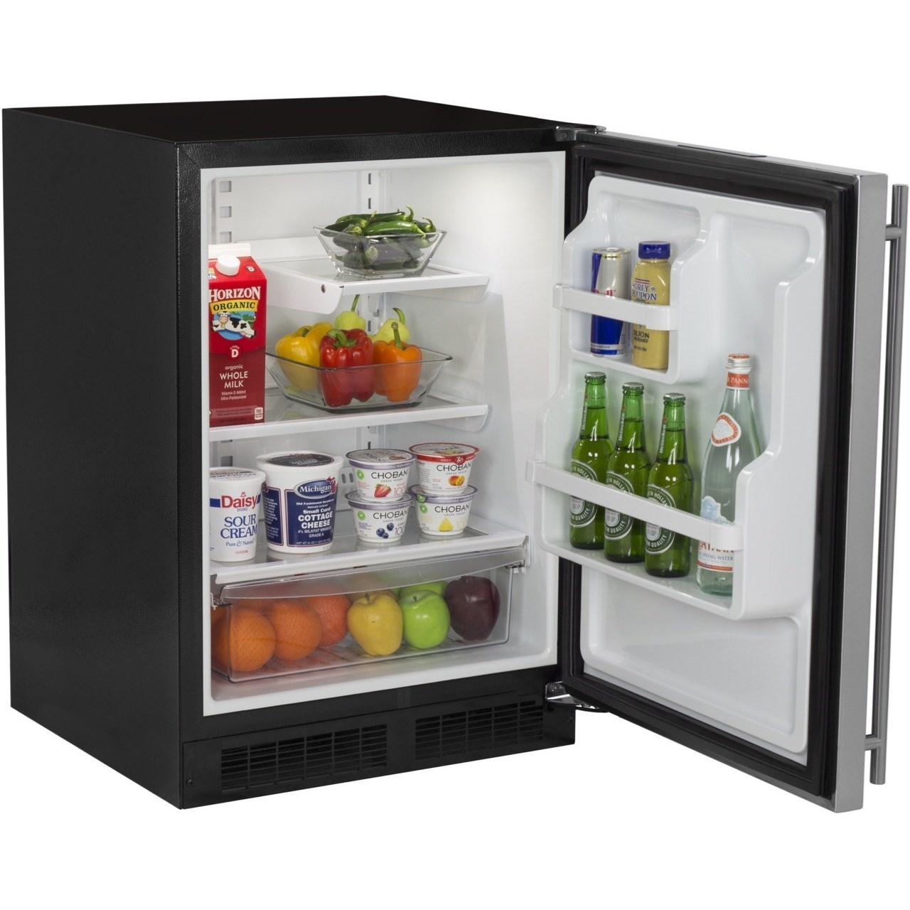 """Refrigerators - Marvel 24"""" Built-in Refrigerator by Marvel Industries at Furniture and ApplianceMart"""
