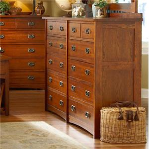 MasterCraft Prairie Mission 12 Drawer Dresser