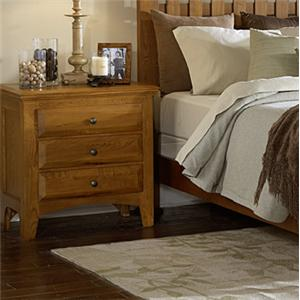 MasterCraft Retreat 3 Drawer Nightstand
