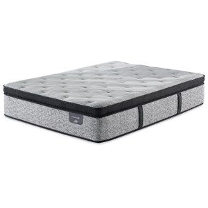Queen Plush Euro Top Pillow Top Hybrid Mattress