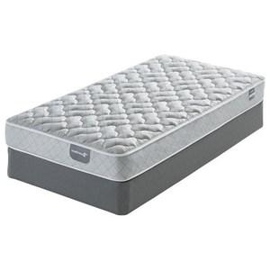"""Full 8"""" Foam Mattress and Low Profile Triton Lite Foundation"""