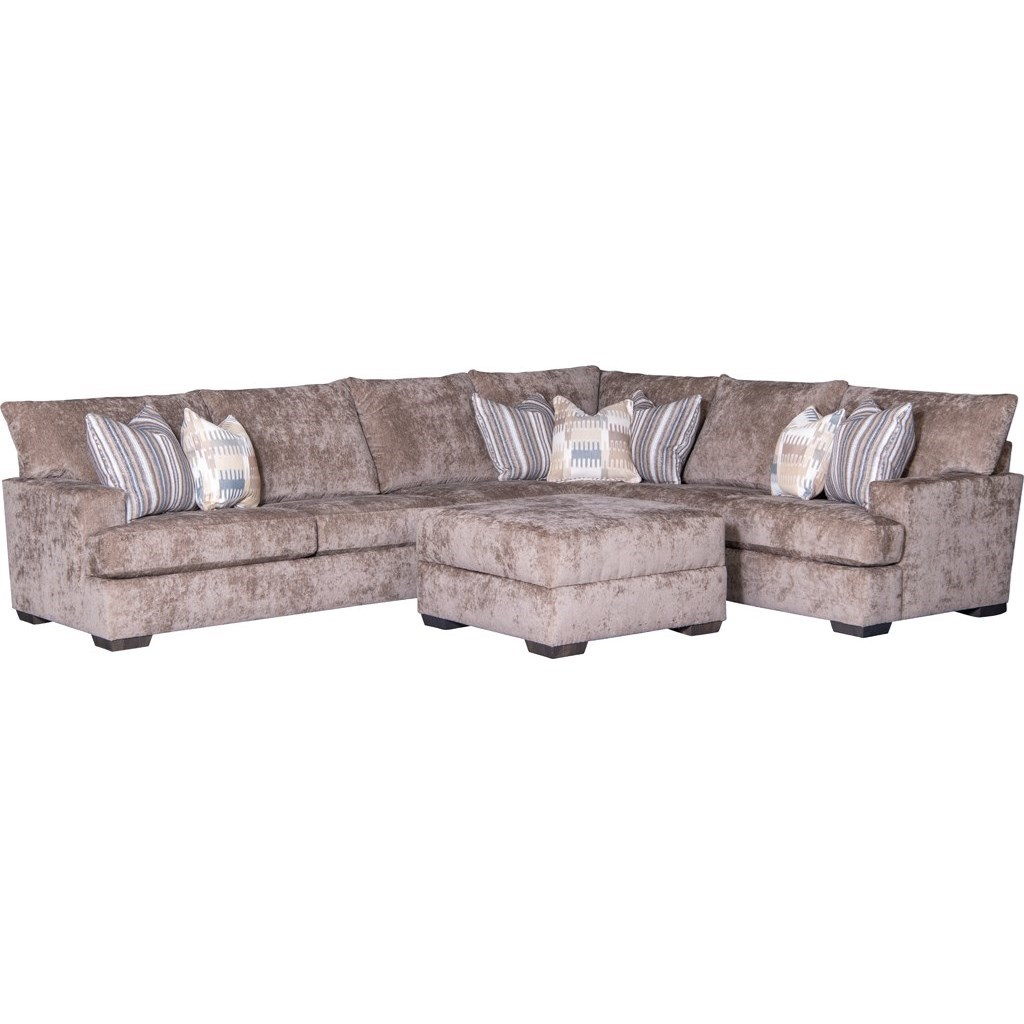 2100 Sectional Sofa by Mayo at Miller Waldrop Furniture and Decor