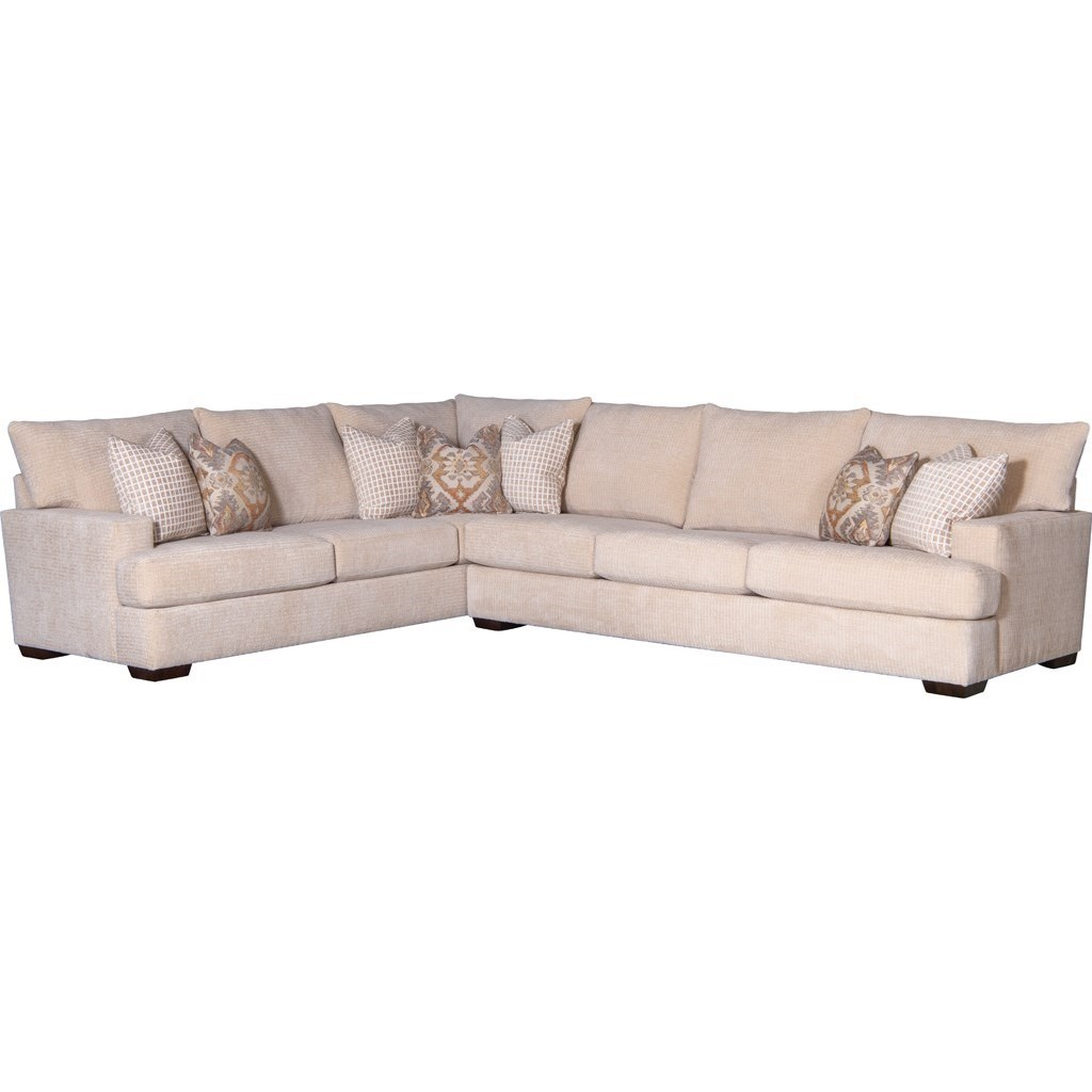 2100 Sectional Sofa by Mayo at Wilcox Furniture