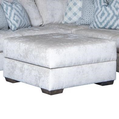 2100 Storage Ottoman by Mayo at Wilson's Furniture