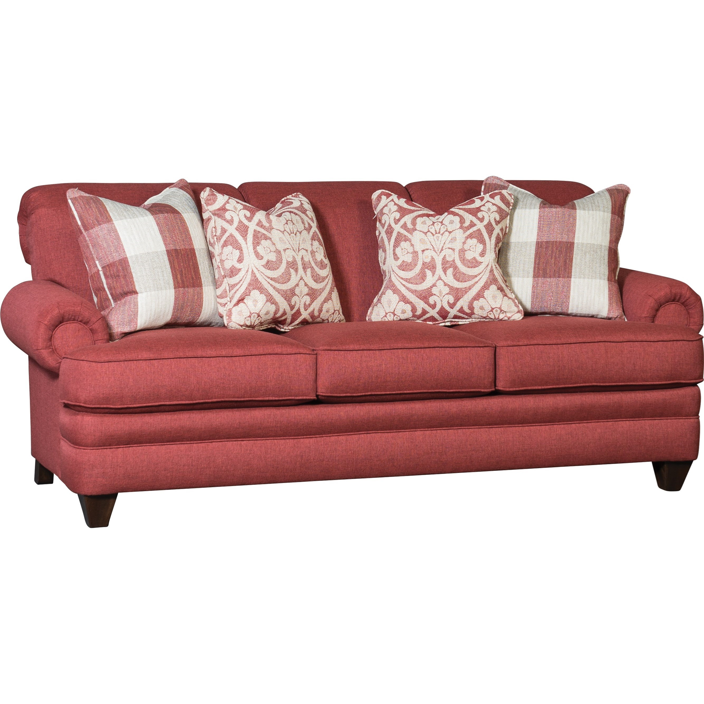 2377 Sofa by Mayo at Wilson's Furniture