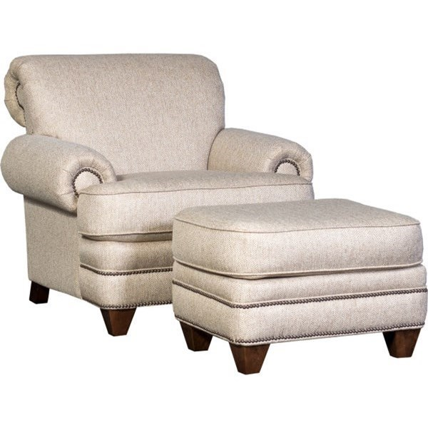 2377 Chair and Ottoman Set by Mayo at Wilcox Furniture