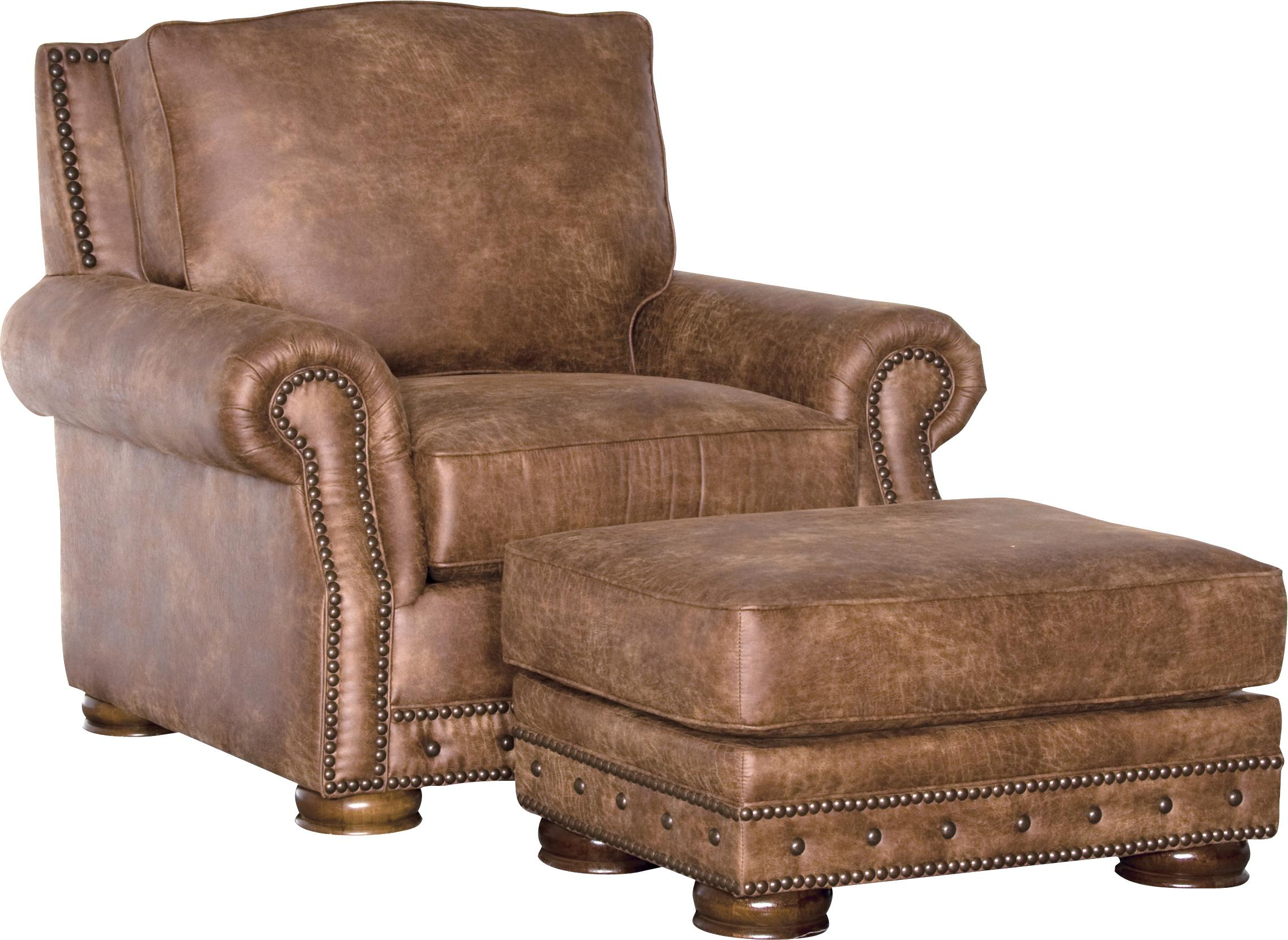 2900 Traditional Chair and Ottoman Set by Mayo at Story & Lee Furniture